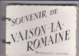 RARE--MINI CARNET 14 Mini Photos--souvenir De VAISON LA ROMAINE--voir 5 Scans - Other Collections