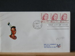 76/771 FDC  USA - American Indians