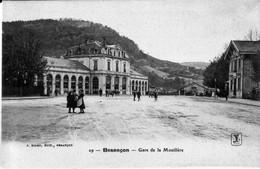 CPA De BESANCON (Doubs) - La Gare De La Mouillère. Edition Liard, Numéro 29. Non Circulée. T Bon état. - Besancon