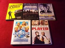 PROMO  DVD ° REF  333 ° LE LOT DE 5 DVD  POUR 20 EUROS °°° - Action, Adventure