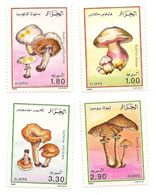 ALGÉRIE Scott 908-911 Yvert 966-969 (4) ** Cote 9,50 $ 1989 - Algérie (1962-...)