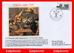 ANNULLO ANNIVERSARIO 470° RIVOLTA NAPOLETANA CONTRO L'INQUISIZIONE SPAGNOLA - 6. 1946-.. Repubblica