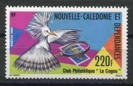 RC 8306 NOUVELLE CALÉDONIE N° 504 -  CLUB PHILATELIQUE LE CAGOU NEUF ** - Nuevos