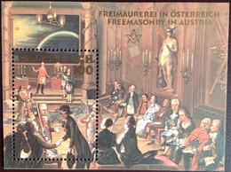 Austria 2006 Freemasonry Minisheet MNH - 1945-.... 2ème République
