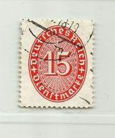 Allemagne III ème Reich Service N° 81 - Service