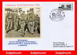 ANNULLO ANNIVERSARIO 74° BATTAGLIA CEFALONIA E CORFÙ - 6. 1946-.. Repubblica