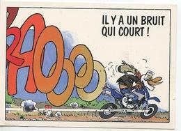 Joe Bar Team (Moto Humour Cp Vierge) Il Y A Un Bruit Qui Court ! - Humour