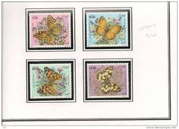 ALGÉRIE Scott 1070-1073 Yvert 1112 - 1115 (4) ** Cote 7,20 $ 1996 - Algérie (1962-...)