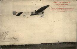 44 - NANTES - Nantes Aviation 1910 - Retour De Morane - Monoplan - Nantes