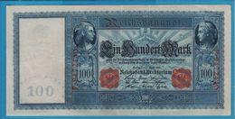 DEUTSCHES REICH 100 MARK 21.04.1910No F.9472440   P# 42 White Paper Flottenhunderter - [ 2] 1871-1918 : German Empire