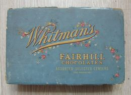 AC - VINTAGE EMPTY BOX OF WHITMAN'S FAIRHILL ASSORTED CHOCOLATES CANDY  EMPTY BOX - Boxes