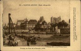 44 - NANTES - Nantes Ancien - Travaux Du Pont De La Rotonde - Nantes