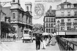 CPA De BESANCON (Doubs) - Le Pont Battant - La Madeleine. Edition Liard. Non Numérotée. Circulée En 1904. Bon état. - Besancon