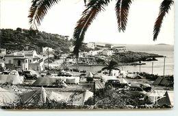 DEP 83 SANARY SUR MER LE CAMPING ET LA PLAGE DE PORT ISSOL - Sanary-sur-Mer