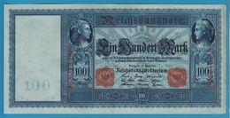 DEUTSCHES REICH 100 MARK 21.04.1910 Serial# E.5013286 P# 42 Blueisch Paper Flottenhunderter - [ 2] 1871-1918 : German Empire