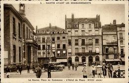 44 - NANTES - Nantes Avant Les Bombardements - Place Du Commerce - Banque Nationale De Crédit - Nantes
