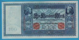 DEUTSCHES REICH 100 MARK 21.04.1910 Serial# E.5013284 P# 42 Blueisch Paper Flottenhunderter - [ 2] 1871-1918 : German Empire