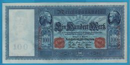 DEUTSCHES REICH 100 MARK 21.04.1910 Serial# E.5013280 P# 42 Blueisch Paper Flottenhunderter - [ 2] 1871-1918 : German Empire