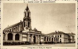44 - NANTES - Nantes Avant Les Bombardements - Hôtel Dieu - Faculté De Médecine - Nantes