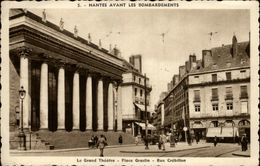 44 - NANTES - Nantes Avant Les Bombardements - Place Graslin - Nantes