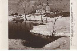 CPA / Salon Paris /C.Westchiloff / Un Monastère En Russie - Postcards