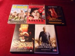 PROMO  DVD ° REF  216 ° LE LOT DE 5 DVD  POUR 20 EUROS °°° - Action, Adventure