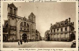 44 - NANTES - Nantes Avant Les Bombardements - Place De L'Edit De Nantes - Temple Protestant - Nantes
