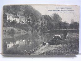 BELGIQUE - LA VIE CHAMPETRE A VAUX SOUS CHEVREMONT - ANIMEE - MOUTON - 1907 - Chaudfontaine