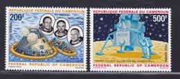 CAMEROUN AERIENS N°  146 & 147 ** MNH Neufs Sans Charnière, TB (D6535) Cosmos, Apollo 11 - Cameroun (1960-...)