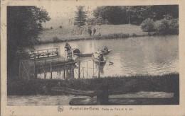 Luxembourg - Mondorf  Les Bains - Le Parc Et Le Lac - Barque - 1926 - Mondorf-les-Bains