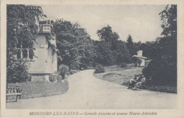Luxembourg - Mondorf  Les Bains - Grande Piscine Et Source Marie-Adélaïde - Mondorf-les-Bains