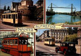 44 - NANTES - Nostalgie Du Passé - Tramway - Multi Vues - Nantes