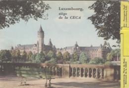 Luxembourg - Luxembourg Ville -  Dépliant Publicité Communauté Européenne Charbon Et Acier 2 Place De Metz - Luxembourg - Ville
