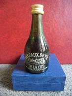 MIGNONNETTE Alcool Blanc Les Eaux De VIE De Marc De La Cité De TREBES/CARCASSONNE 5cl 40% @ Aude FRANCE - Miniatures