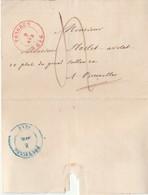 LAC De TONGRES Tongeren 2 Avr 1846 Vers Bruxelles - 1830-1849 (Belgique Indépendante)
