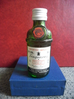 MIGNONNETTE Alcool Blanc GIN ANGLAIS TANQUERAY 5cl 43% @ LONDON Angleterre Special DRY Extra Sec - Miniatures
