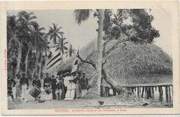 CPA Tahiti Raiatea, La Famille Royale Avera Royalty Océanie Non Circulé RARE - Polynésie Française