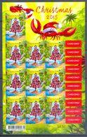 E10- Australia Christmas Island. Christmas 2015.  Self Adhesive Stamps. - Australia
