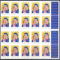 E35- Australia Christmas.  Self Adhesive Stamps. - Australia