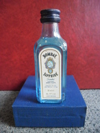 MIGNONNETTE Alcool Blanc GIN ANGLAIS BOMBAY SAPHIRE 5cl 47% @ LONDON Angleterre Special DRY Extra Sec Since 1761 - Miniatures
