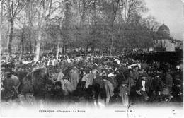 CPA BESANCON (Doubs) - Chamars - La Foire. Edition E.M. Circulée En 1906. Bon état - Besancon