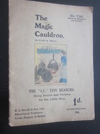 """The Magic Cauldron Note Book """"A.L.""""Tiny Readears Being Stories And Pictures For A Little Ones Arnold & Sons Ltd Leeds Gl - Enfants"""
