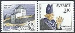 Zweden 1987 Jubileum Paar I PF-MNH - Neufs