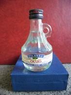 MIGNONNETTE Alcool Blanc OUZO PILAVAS 5cl 40% @ Patra GRECE Apéritif Grec - Miniatures
