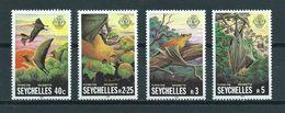 1981 Seychellen/Seychelles Complete Setvleermuizen,bat,fledermaus MNH/Postfris/Neuf Sans Charniere - Vleermuizen