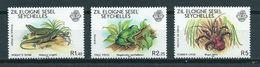 1981 Seychellen/Seychelles Zil Eloigne Sesel Complete Set Animals MNH/Postfris/Neuf Sans Charniere - Seychellen (1976-...)