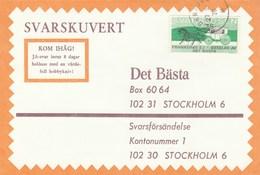 1970 Soderfors SWEDEN COVER Svarslosen COIL Stamps HORSE CARRIAGE - Sweden