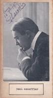 PAUL ESCOFFIER; JEAN JOFFRE. AUTOGRAPHE SIGNEE AUTHENTIQUE ORIGINAL.-BLEUP - Autographes