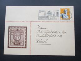 Schweiz 1944 Sonderpostkarte Des Internationalen Philatelistenclub Schweizerland. Schweizerland Verlag Kriens - Briefe U. Dokumente