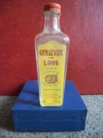 MIGNONNETTE Alcool Blanc EAU DE VIE GENIEVRE De LOOS 4cl Pour 42% @ Nord France - Miniatures
